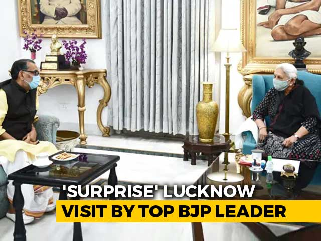 Video : What BJP's UP In-Charge Said After Meeting Governor Amid Shake-Up Talk