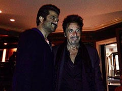 """Anil Kapoor With 2 Of The Reasons He """"Loves Being An Actor"""" - Robert De Niro And Al Pacino"""