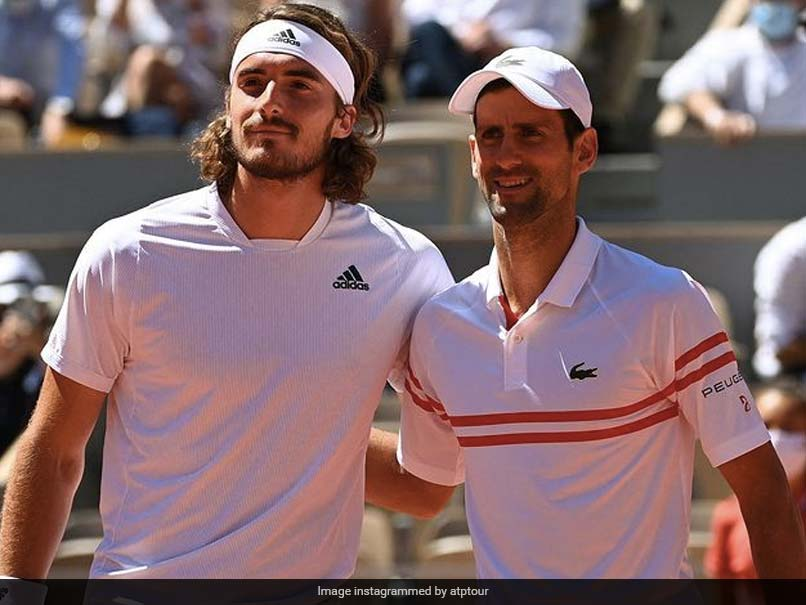"Stefanos Tsitsipas Hails Novak Djokovic As ""One Of The Greatest"""