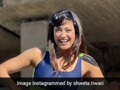 Shweta Tiwari Cannot Stop Fashionably Rocking Athleisure For <i>Khatron Ke Khiladi</i> In Cape Town
