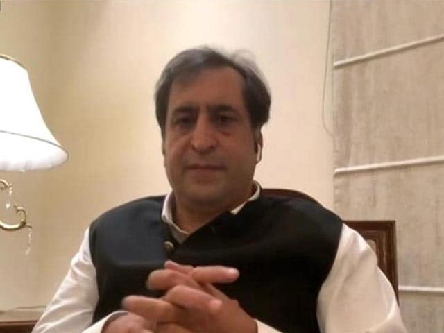 """Video : """"Union Government The Change Maker, Have To Work With Them"""": Sajad Lone"""