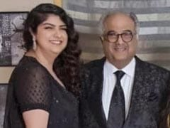 """""""Anshula Is Home And Healthy,"""" Says Boney Kapoor On Concern About Daughter's Health"""