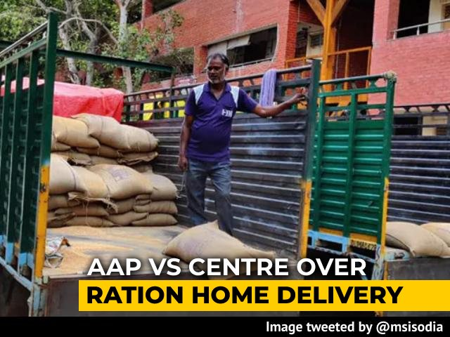 Video : Centre Blocks Delhi's Ration Home Delivery, Say AAP Government Sources