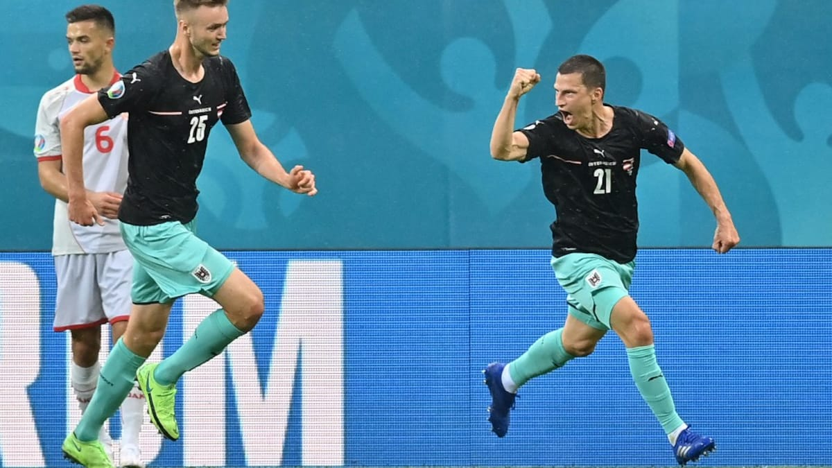 Photo of UEFA Euro 2020: Austria See Off Debutants North Macedonia To Secure First Ever Euro Win