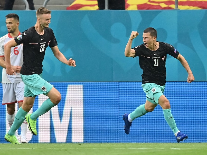 Substitutes Michael Gregoritsch and Marko Arnautovic scored late goals as Austria sealed a 3-1 victory over major tournament debutants North Macedonia in their Group C opener at Euro 2020 on Sunday.