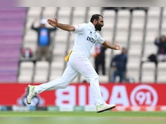 WTC Final: Mohammed Shami Wraps A Towel While On Field, Fans Post Amusing Reactions