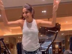 "Shilpa Shetty Crushes Monday Cardio. Two Words - ""Bhangra Power"""