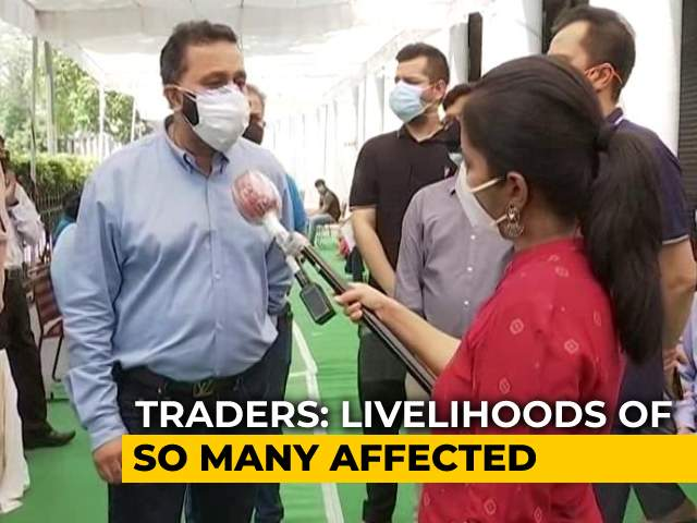 Video : Traders Oppose Delhi's Odd-Even Reopening Of Shops