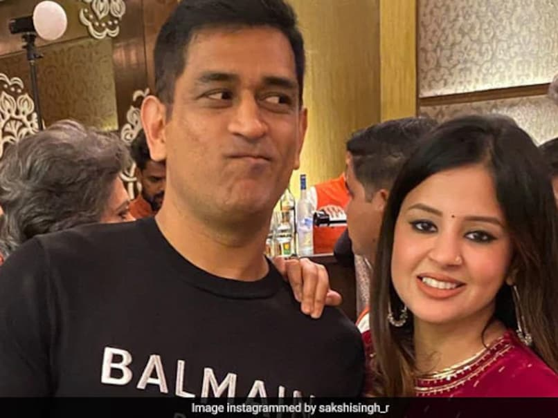 What Sakshi, Wife Of MS Dhoni, Received As Gift On Wedding Anniversary