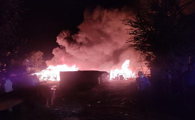56 Shanties Of Rohingya Refugees Destroyed In Fire Near Kalindi Kunj In Delhi