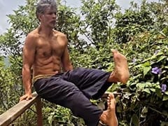 """Nothing To See Here, Just Milind Soman """"Chilling Like A Villain"""""""