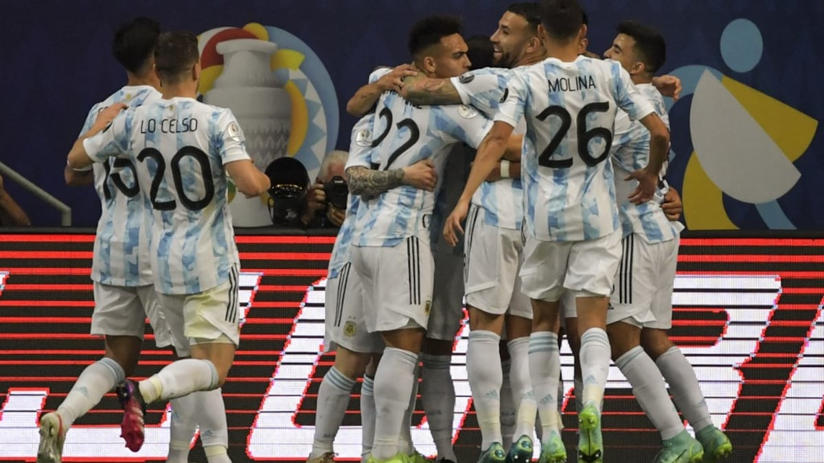 America's Cup: Guido Rodriguez beats Argentina 1-0 to Argentina |  Football news