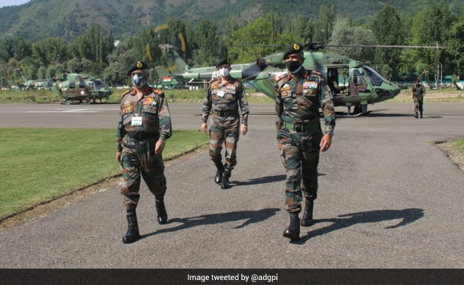 Army Chief On Two-Day Kashmir Visit To Review Security Situation