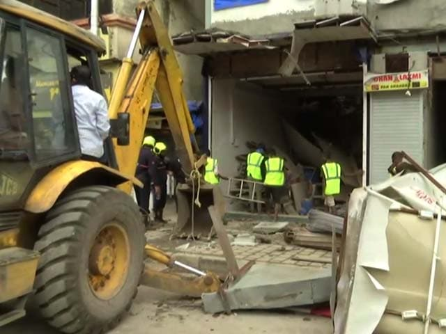 Video : Portion Of Building Collapses In Mumbai, 40 Rescued