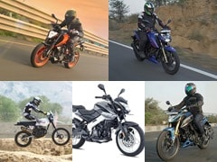 Top 5 Motorcycles To Buy From The 200 cc Segment