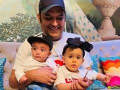 Meet Kapil Sharma's Son Trishaan. Bonus - Cutie Pie Anayra