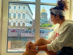 """Before Leaving Russia, Taapsee Pannu Shares This """"Photographic View"""""""