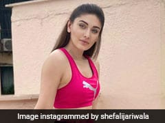 Shefali Jariwala Drives Away The Blues With Her Dose Of Punchy Pink In An Athleisure Look