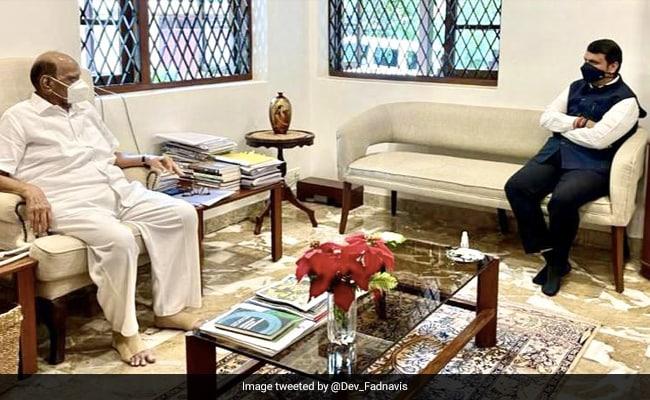 Shiv Sena's Dig At Devendra Fadnavis Over His Meeting With Sharad Pawar