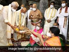 Chief Justice Of India NV Ramana Offers Prayers At Tirumala