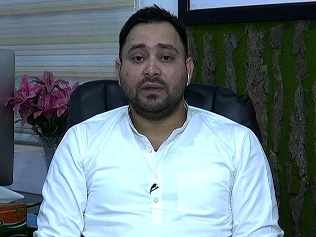 Video : Not Without Congress: Vote Of Confidence From Tejashwi Yadav
