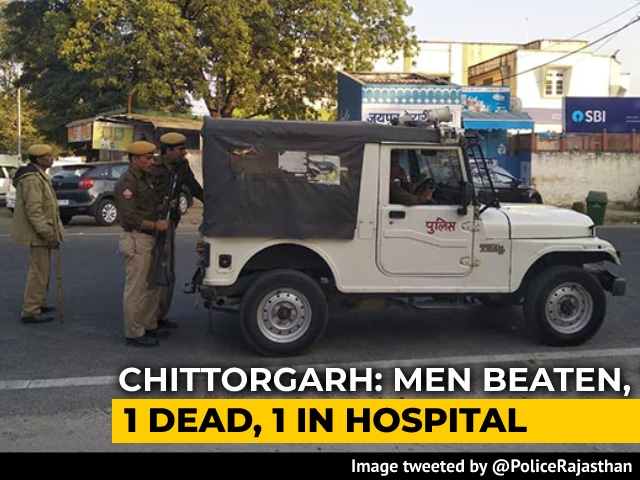 Video : Man Beaten To Death By Mob In Rajasthan Over Cow Smuggling Suspicions