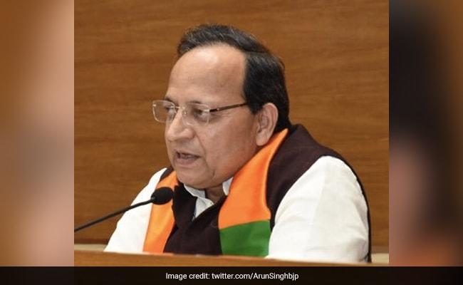 Party Parliamentary Board, Legislators To Decide Next Karnataka Chief Minister: BJP's Arun Singh