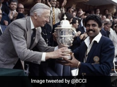 Team India Lifted Their First World Cup On This Day In 1983, BCCI Shares Pic