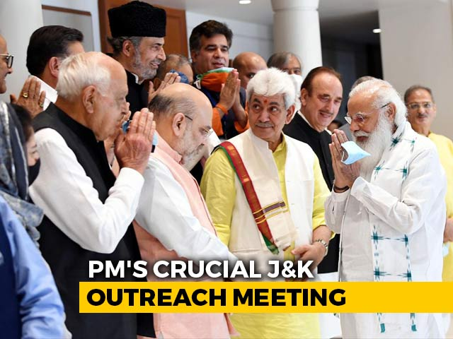 Video : Jammu And Kashmir To Become State Again 'At Right Time', PM Said At Meet