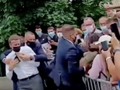 French Court Gives Man Who Slapped President Macron 4 Months In Jail: Report