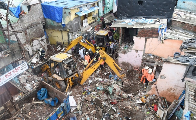 Mumbai Building Collapse: Maharashtra To Give Rs 5 Lakh To Victims' Families