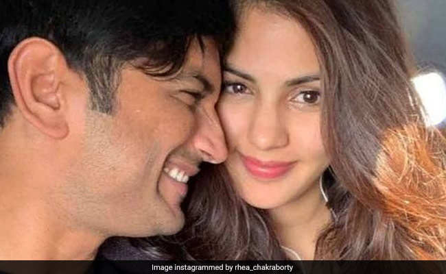 'There Is No Life Without You,' Writes Rhea Chakraborty On Sushant Singh Rajput's Death Anniversary