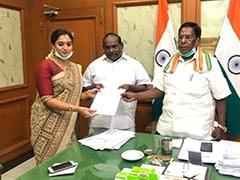 Chandira Priyanga Set To Be Puducherry's First Woman Minister In 40 Years