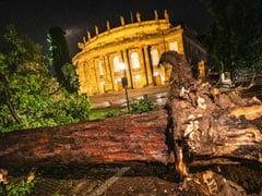 Brutal Summer Storms Lash Germany And Switzerland