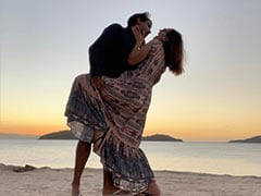 Pics From Actress Evelyn Sharma's Honeymoon With Husband Tushaan