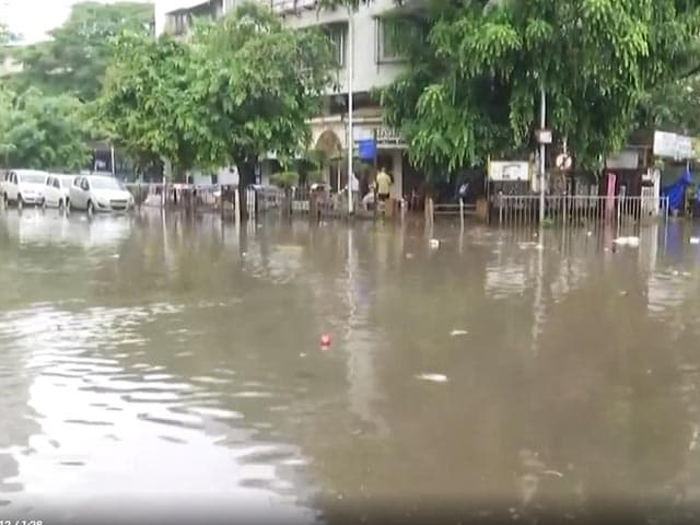 Video : Water-Logging Hits Mumbai, Severe Weather Warning For Next 5 Days