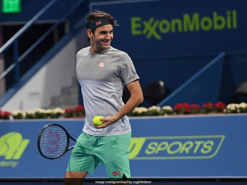 Roger Federer answered questions from tennis fans during a video chat