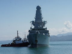 British Warship That Angered Russia Docks In Georgia