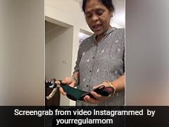 बेटी खरीदकर लाई 35 हजार का बेल्ट, देख मां को आया गुस्सा, बोलीं- 'यह स्कूल का बेल्ट 150 में आ जाता है' - देखें मजेदार Video