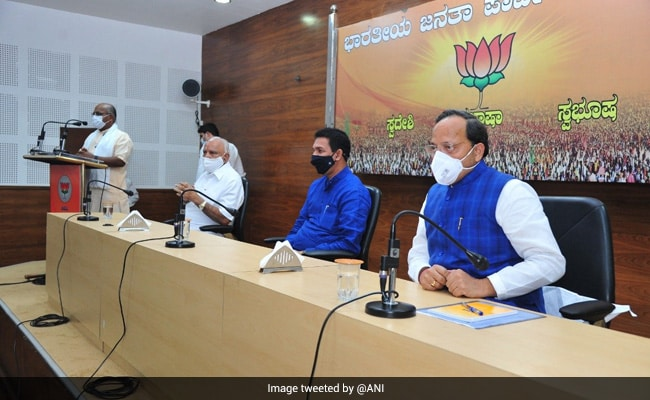 'Legislators United': BJP In-Charge In Karnataka As B S Yediyurappa Faces Dissent