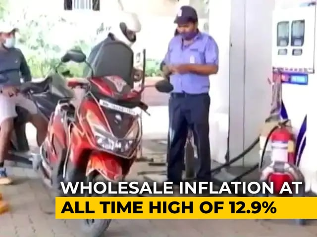 Video : Inflation Hits All-Time High Of 12.94% As Crude, Manufacturing Costs Soar