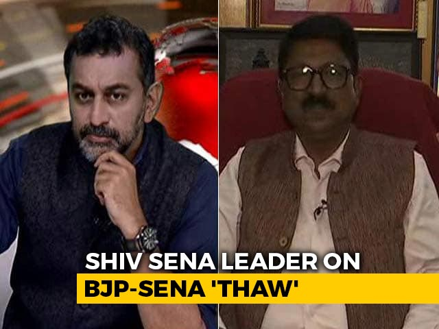 """Video : """"Have Friends In BJP, Opposition Doesn't Mean Enemy"""": Sena's Arvind Sawant"""