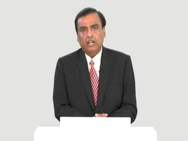 Video : Reliance To Build 4 Giga Factories, Invest Rs. 75,000 Crore In Clean Energy: Mukesh Ambani