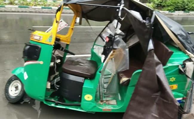Video: Audi Car Speeding In Heavy Rain Hits Auto In Hyderabad, 1 Killed