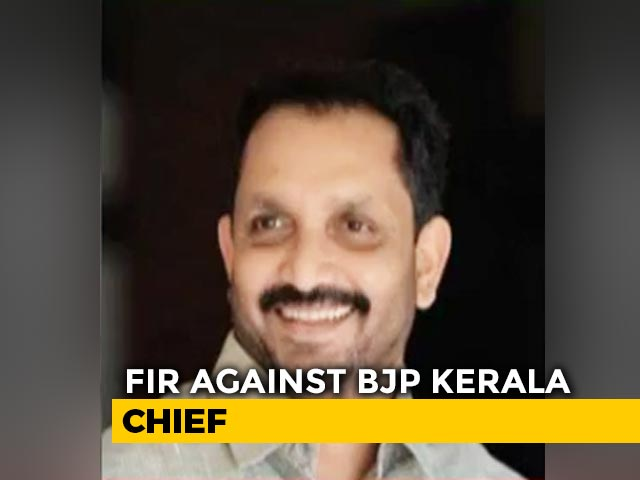 Video : Police Case Against Kerala BJP Chief For Allegedly Bribing Election Rival