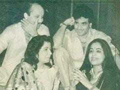 """A Vintage Pic Gave Anupam Kher """"A Flashback Of Great Times"""" With Kirron And Jeetendra"""
