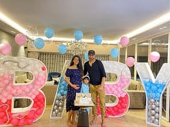Geeta Basra's Virtual Baby Shower Had Guests From Different Parts Of The World. Courtesy, Harbhajan Singh