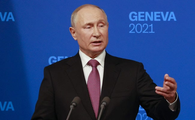 Putin Says 'No Basis' For US Concerns Over Russian Military In Arctic