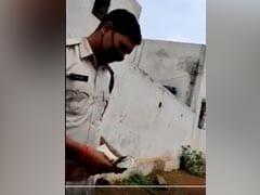 On Camera, 2 Chhattisgarh Cops Caught Accepting Bribe, Suspended