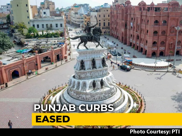 Video : Punjab Restaurants, Theatres, Gyms Can Open At 50% Capacity, Curbs Eased